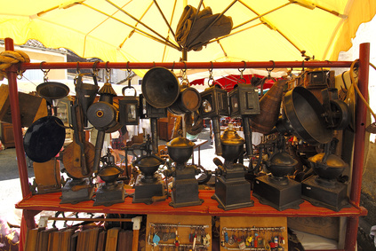 kleine Schätze auf dem Trödelmarkt